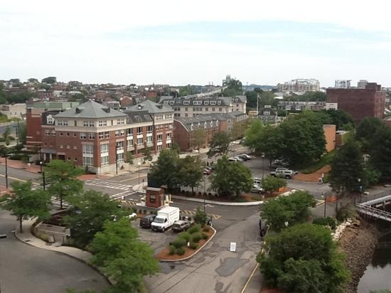 Residence Inn by Marriott Boston Harbor on Tudor Wharf: view from our room