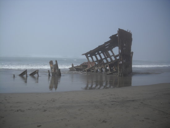 ‪Peter Iredale Ship Wreck‬