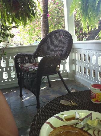 Duval Inn: veranda