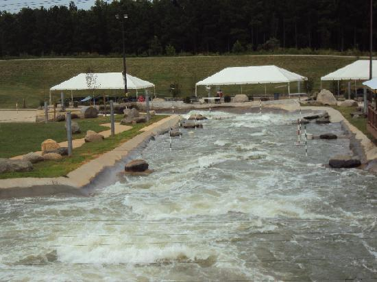 U.S. National Whitewater Center: Going into the heavy waters