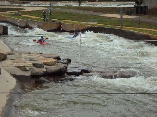 U.S. National Whitewater Center: Kayak training