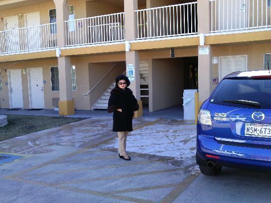 Regency Inn & Suites San Antonio: A cold day at the Regency Inn