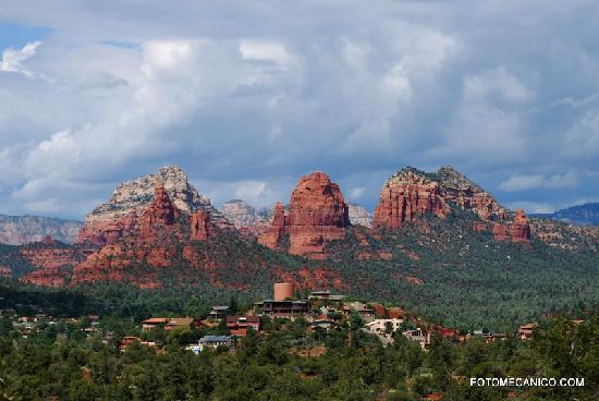 Red Rock State Park : View of Sedona from the Red Rock Park