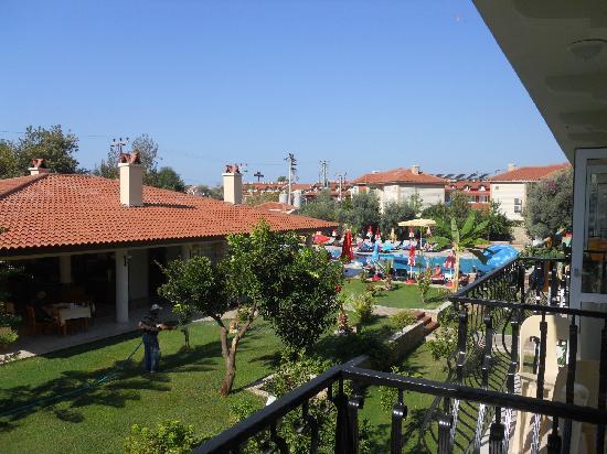 Mavruka Hotel: view from our balcony