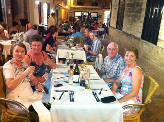 La Font del Gall: great meal outside