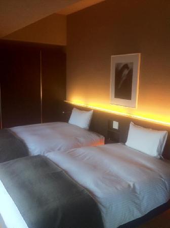 Esashiryotei Kuki: ベッドルーム。