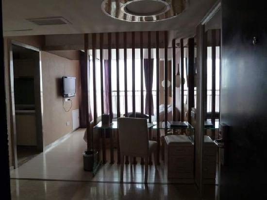 Victoria Business Apartment: Nice room but poor workmanship
