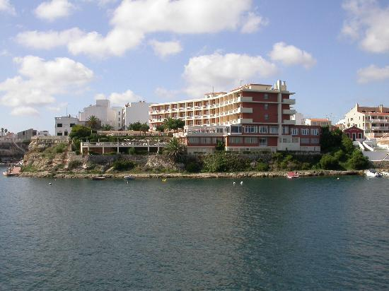 Artiem Carlos - Adults Only: Hotel seen from the bay