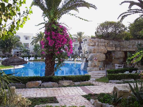 Tui Magic Life Africana: vue sur la grande piscine, pas mal pour se réveiller le matin non ?