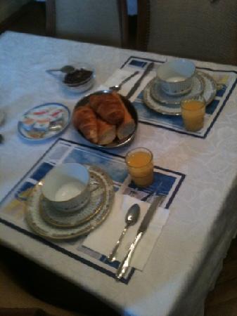 Hotel de l'Europe: colazione