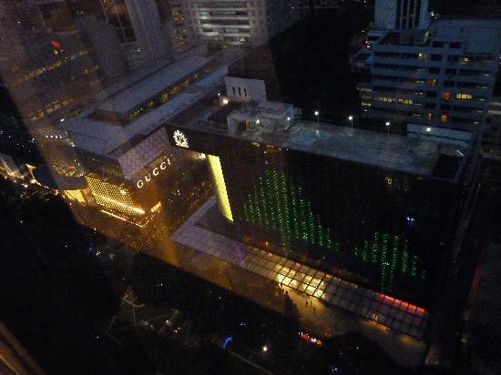 โรงแรมแมนดาริน ออร์ชาร์ด: View from room Orchard Road