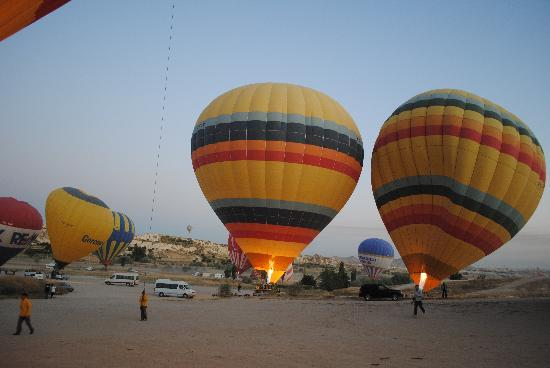 All Istanbul Tours - Day Tours : Hot Air Balloon Trip