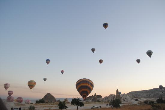 All Istanbul Tours - Day Tours : In the Air