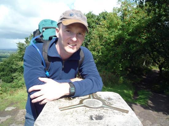 Sandstone Trail: Rawhead trig point