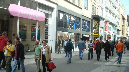 Rue Neuve: July 2011, during a day trip to Brussels