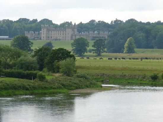 Floors Castle from across the river