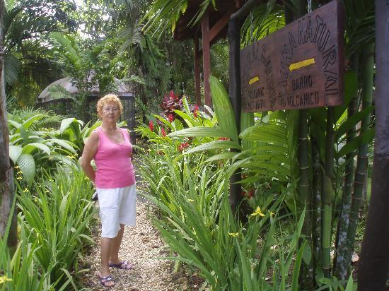 Blue River Resort & Hot Springs: entrada a la sauna y sala de barro