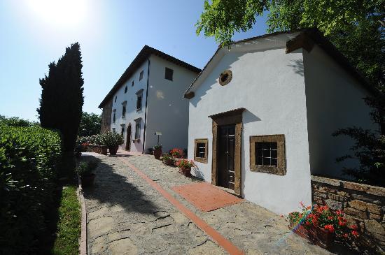 Borgo La Casaccia: Entrance