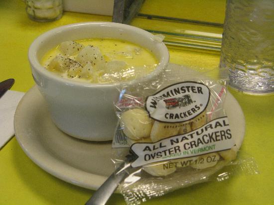 Moody's Diner: Haddock chowder