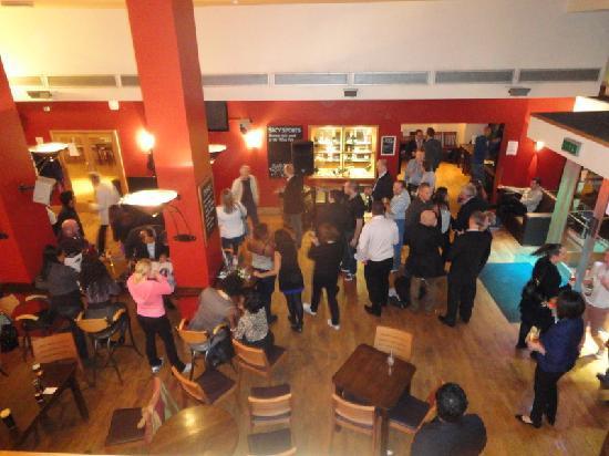 The Wine Tun: dal bar del primo piano