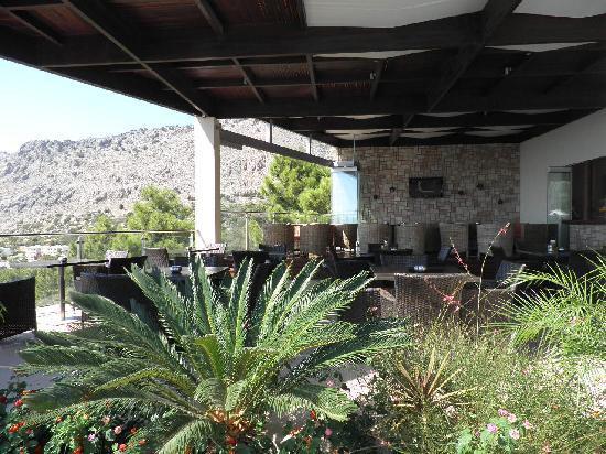 Pefkos Blue: Bar/restaurant