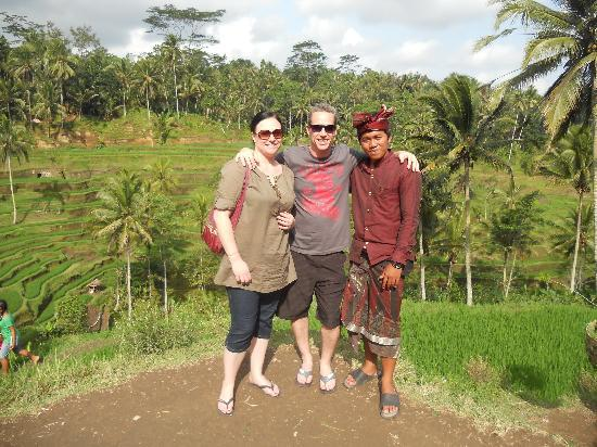 Bali Traditional Tours - Day Tours: At rice terraces with Ketut