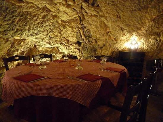 Osteria La Candina de Seppe Tise: La grotta 1