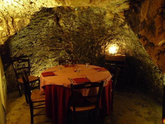 Osteria La Candina de Seppe Tise: La grotta 2