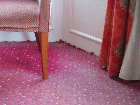 โรงแรมเดอะคลิฟตัน สการ์โบรซ์: room 359,nice carpets