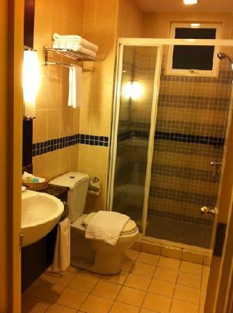 ซอมเมอร์เซต เซริ บูกิต ซีลอน: [2 bedroom apt.] smaller, main bathroom