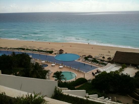 Live Aqua Beach Resort Cancun: view from our terrace