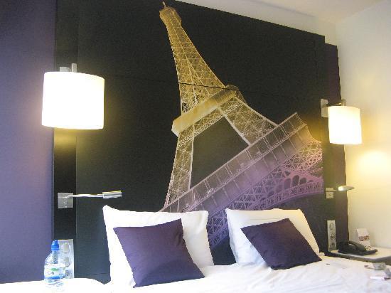 เมอร์เคียว ปารีสเซ็นเตอร์ ตูร์เอฟเฟล: Comfy bed