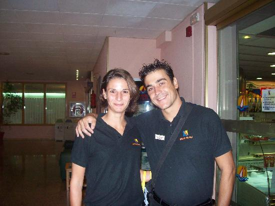 TUI Family Life Avenida Suites: david nd annabelle 2 of 3 amazing hotel entertainment  staff