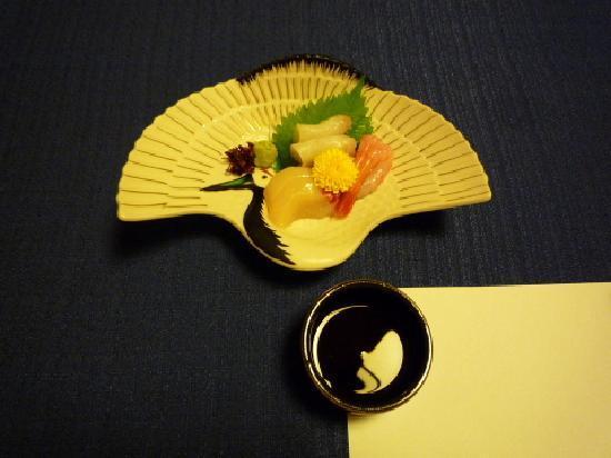Kansuiro: お作りの器も鶴でした。