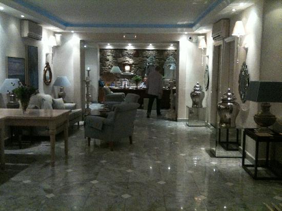 Nissaki Boutique Hotel: Reception