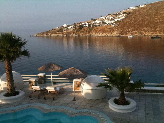 Nissaki Boutique Hotel: View