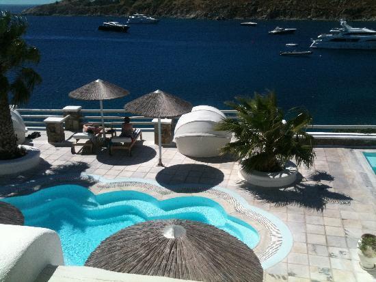 Nissaki Boutique Hotel: View Balcony 512