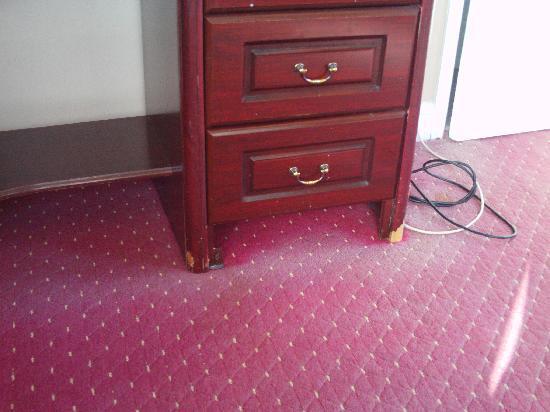 โรงแรมเดอะคลิฟตัน สการ์โบรซ์: nice carpets