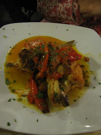 Elettra: Chicken with Peppers