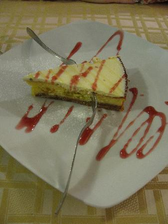 Elettra: Lemon Cheese Cake