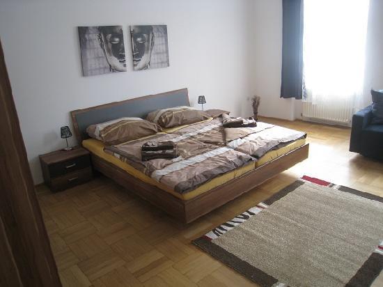 Park Apartments Wien: Das Schlafzimmer