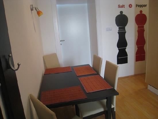 Park Apartments Wien: Moderne Küche