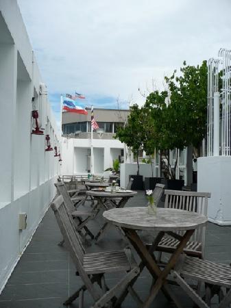 โรงแรมนาก: Rooftop terrace