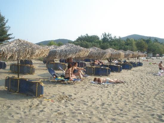 Sonia Village Hotel: Hotel beach
