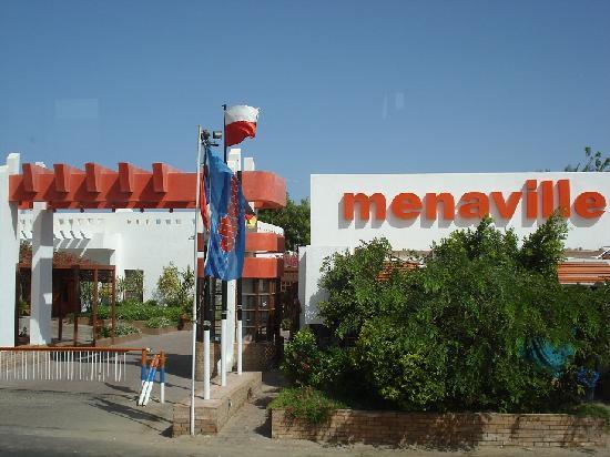 Menaville Resort: Hotel gate