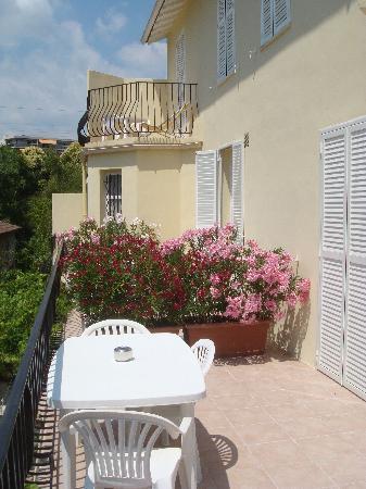 Villa Parisiana: les terrasses
