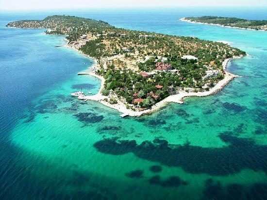 Kalem Adasi Oliviera Resort: Kalem Island