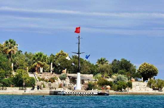 Kalem Adasi Oliviera Resort: Heliport