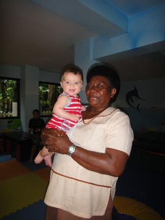 Korolevu, Fiji: Our beautiful baby sitter who we really recommend.