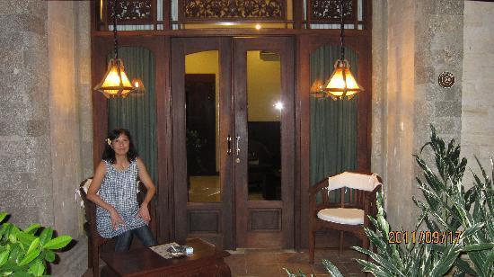 โรงแรม ทามูคามิ: 部屋の入り口